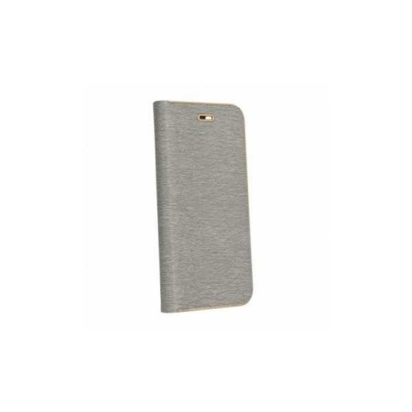 Brieftaschenetui Luna Book auf Huawei P30 Pro  Silber